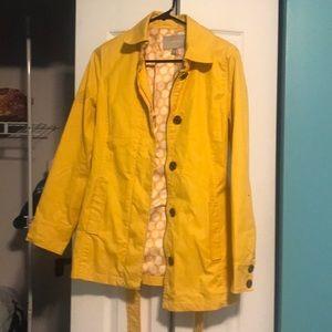 Banana Republic Yellow Raincoat